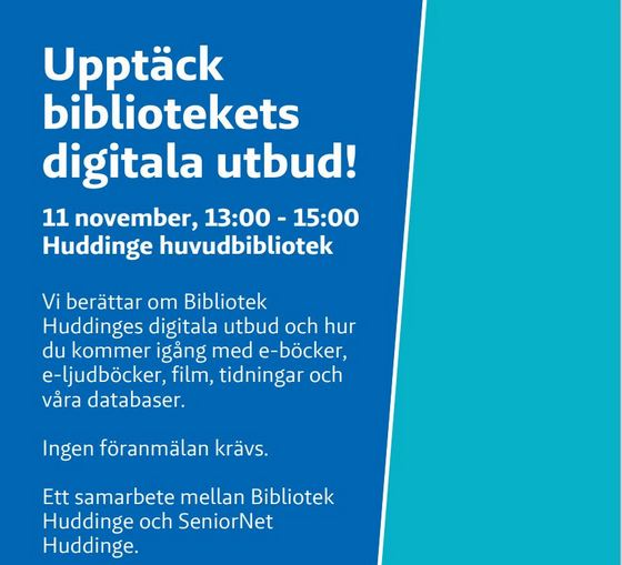 Upptäck bibliotekets digitala utbud